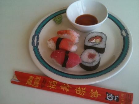 Sushi Lunch on オーシャンプリンセス