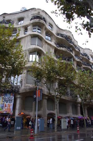カザ・ミラ in バルセロナ