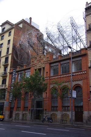 アントニ・タピエス美術館 in バルセロナ