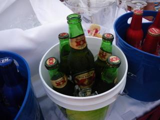 ルビープリンセスで買ったビール