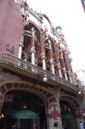 世界遺産 カタルーニャ音楽堂