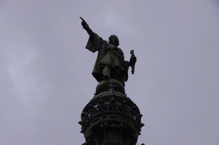 コロンブスの塔 at バルセロナ