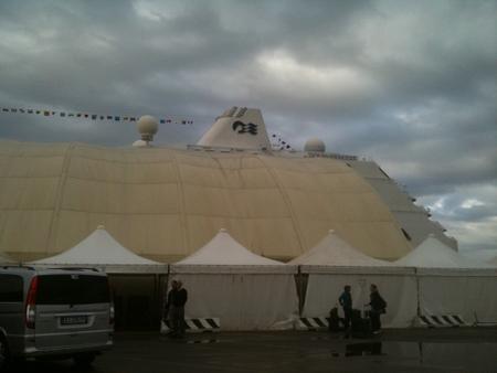 オーシャンプリンセス at チベタベッキア