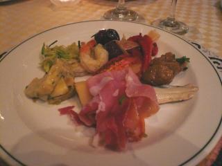 サバティーニの前菜1