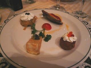 サバティーニの前菜2