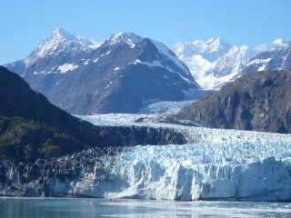 マージェリー氷河(グレイシャーベイ国立公園)