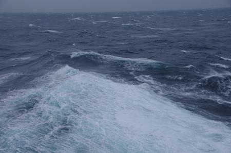 冬の日本海 from オーシャンプリンセス