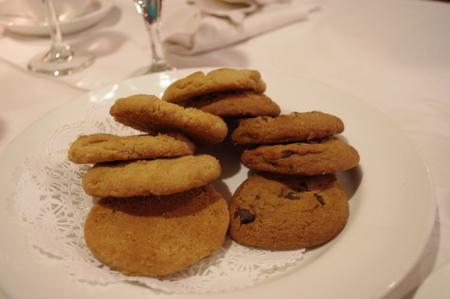 焼きたてのクッキー on オーシャンプリンセス