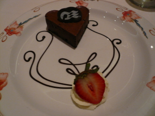 チョコレートムース ゴディバリキュール風味