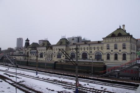 ウラジオストク駅 in ウラジオストク
