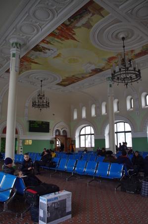 ウラジオストク駅の内部