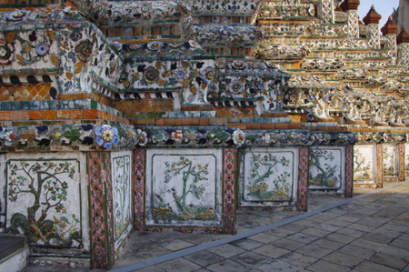 ワット・アルンの大仏塔