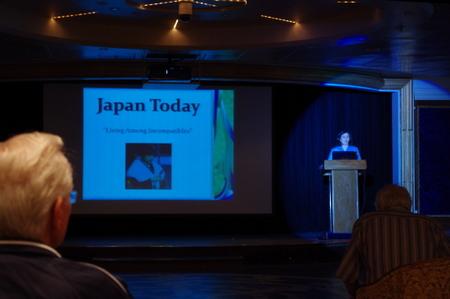 アメリカ人講師による日本セミナー on オーシャンプリンセス