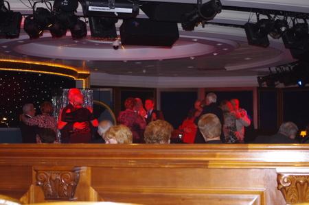 キャプテンズ ガラ カクテル パーティー on オーシャンプリンセス