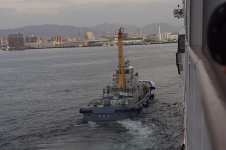 タグボートの珠島丸