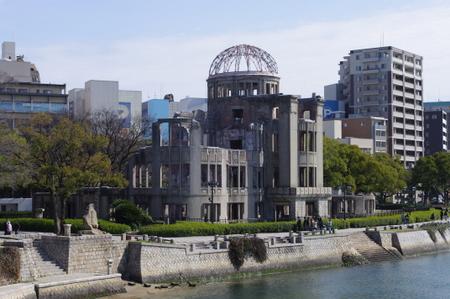原爆ドームとその周辺の景観