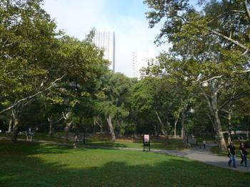 ニューヨークのセントラルパーク