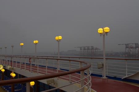 オーシャンプリンセス東京湾航行中