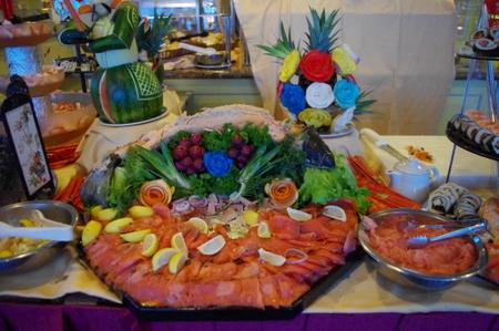 シーフード&寿司バフェ on オーシャンプリンセス