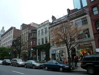 ボストンのNewbury Street