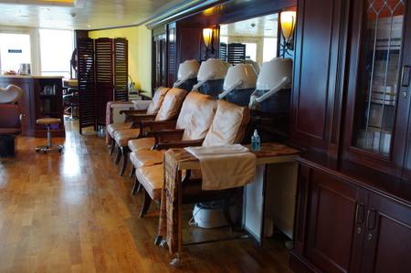 Lotus SpaのBeauty Salon on オーシャンプリンセス