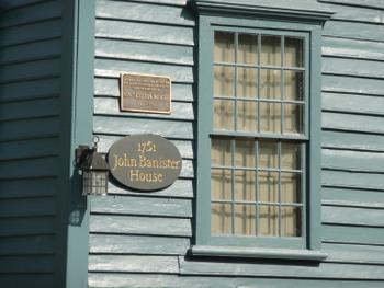 John Banister House in ニューポート