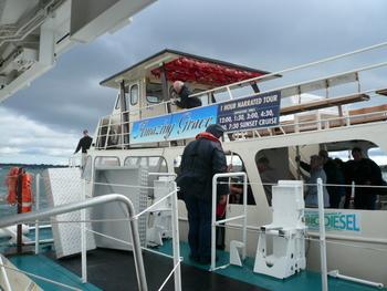 ニューポートの遊覧船、Amaging Grace