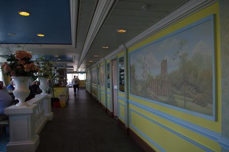 Panorama Buffet on オーシャンプリンセス