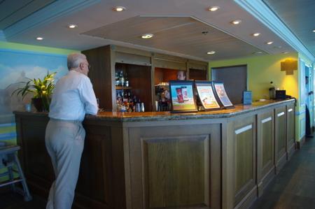 オーシャンプリンセスのPanorama Buffet内 Bar