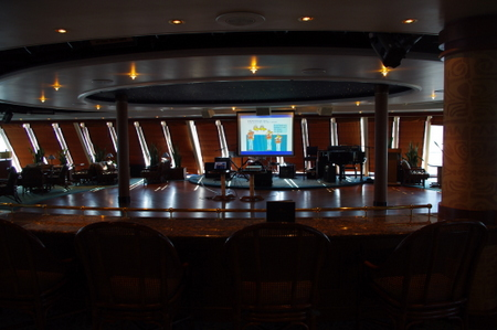 Tahitian Lounge on オーシャンプリンセス
