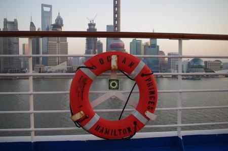 オーシャンプリンセスの浮き輪