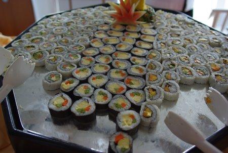 スタープリンセスの寿司ランチ