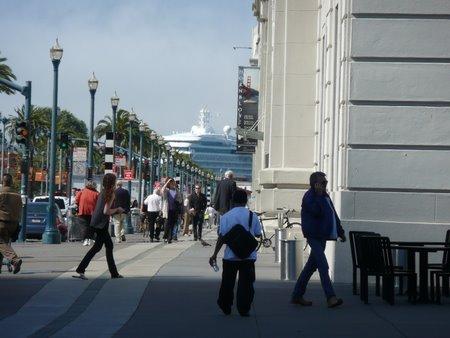 船の見える風景 at サンフランシスコ