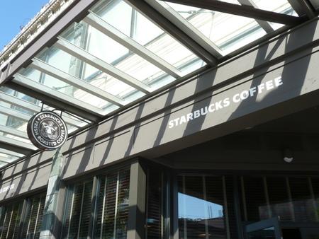 スターバックスコーヒー1号店 in シアトル