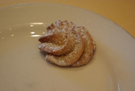 アフタヌーンティーのクッキー