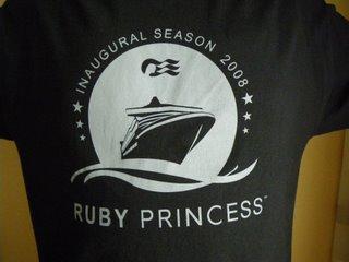 ルビープリンセスのTシャツ