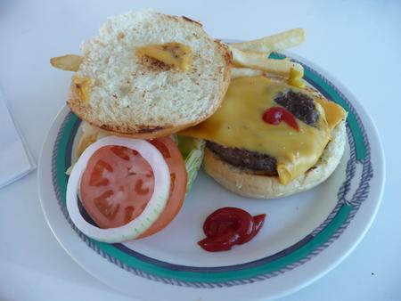 チーズバーガー on スタープリンセス