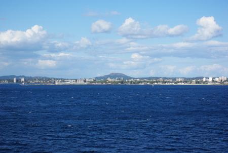 海から見たビクトリア