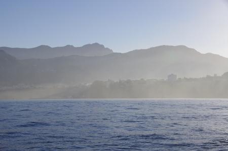 朝靄に包まれるソレント
