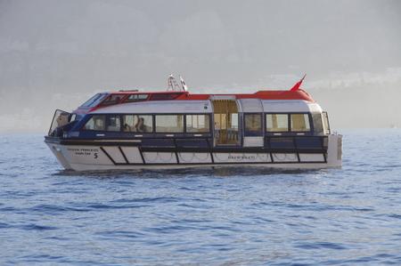 オーシャンプリンセスのテンダーボート