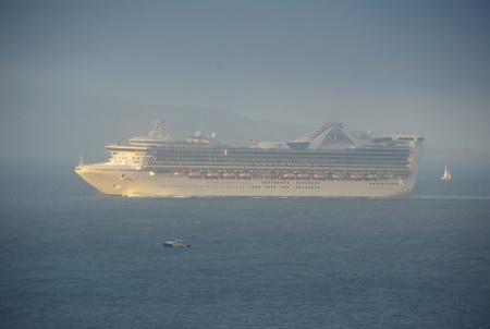 航海中のスタープリンセス