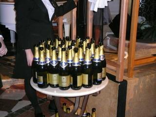 シャンパンがいっぱい