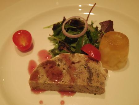 2014沖縄・台湾クルーズ3日目のディナー on ダイヤモンド・プリンセス