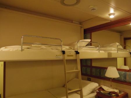 A629 3人目のベッド on ダイヤモンド・プリンセス