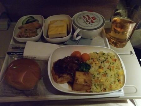 エミレーツ航空 EK313便の機内食 (2).jpg