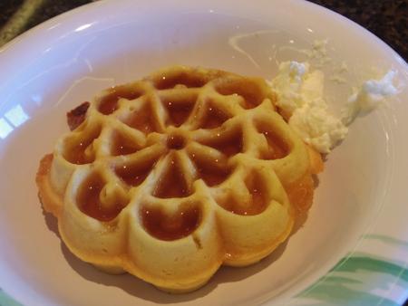 クルーズ7日目の朝食 on ロイヤル・プリンセス
