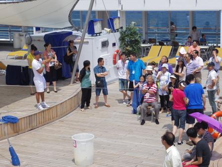 コスタビクトリアの船上イベント