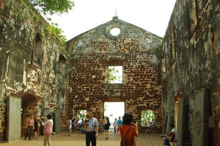 マラッカのセントポール教会跡