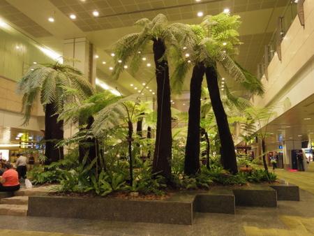 シンガポール チャンギ国際空港のターミナル2