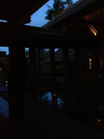 バリ島出発の日の朝